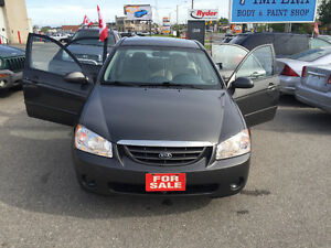 2005 Kia Spectra LX Sedan,No Accident,Only 107 km,Saftey E Test.
