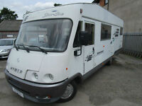Hymer Starline B680 Mercedes Automatic 6 Berth 6 Travelling Seats Large Garage