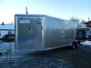 2016 NEO 7'x26' Aluminum Snowmobile Trailer