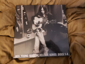 Neil Young official release discs albums 1 to 4 mint