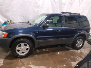 2004 Ford Escape XLT 4x4 Auto - Sunroof