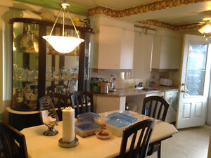 5 1/2 duplex ( 2nd floor for rent ) Metro Montmorency  and Conco