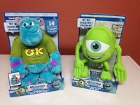 Monster universitys talkin sulley and mike!!!-NEW
