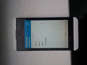 blackberry z10 mint cond. locked to rogers make an offer