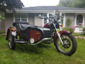 2002 Ural Motorcycle with Sidecar