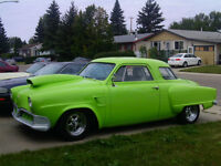 FOR SALE 1952 STUDEBAKER STAR LITE COUPE HOT ROD