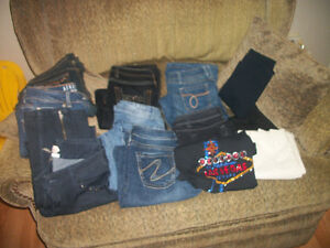 Jeans...some with tags,some without...all like new