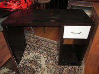 Desk with White Drawer