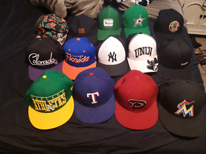 Mens assorted hats. Prices and styles vary