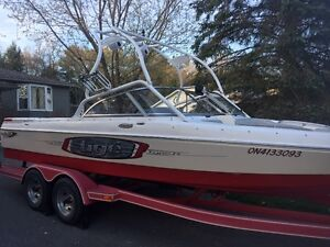 2004 Tige 22i Wakeboard Boat and matching trailer in great shape