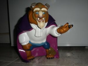 Disney, banque PVC 'Beauty and the Beast' (RARE)