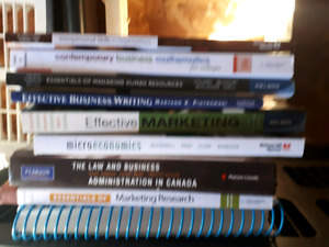 Text books for business administration