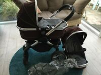 Icandy peach pram