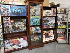 COLLECTIBLES LEGO-MECCANO-CORGI-LIVE AUCTION MONDAYS AT 6:30PM