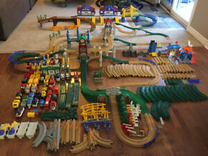 HUGE Fisher Price Geotrax Collection of Sets
