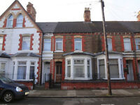 FOR RENT - UNFURNISHED 3 BED HOUSE IN CATHAYS - NO FEES!