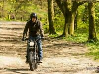 Hanway Scrambler 125cc Off Road Trials Dirt bike Crosser Style Motorcycle