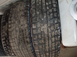 175 70r13 winter tires (4)  514 591 6188