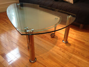 Table basse en verre Structube