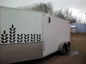 Tandem Axel Enclosed Trailer, Fully lined