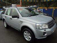 2011 11 LAND ROVER FREELANDER 2 GS 2.2 TD4 IN SILVER # ONE OWNER FROM NEW #