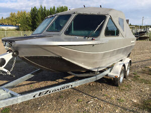 16' Outlaw Lynx Backcountry edition Jet boat
