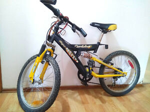moving sale_bike with shock absorbers