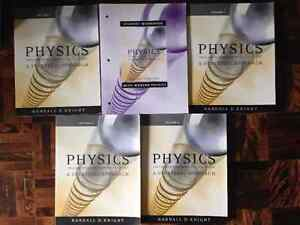 PHYSICS 2nd Edition by Knight - Vol. 1-5 + Workbook