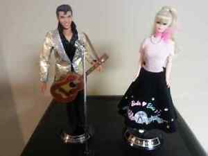 ELvis and Barbie collectables