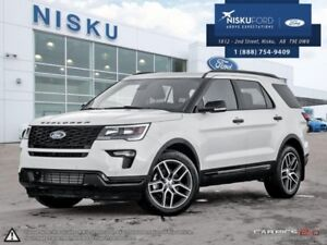 2018 Ford Explorer Sport 4WD  - Sunroof - Package