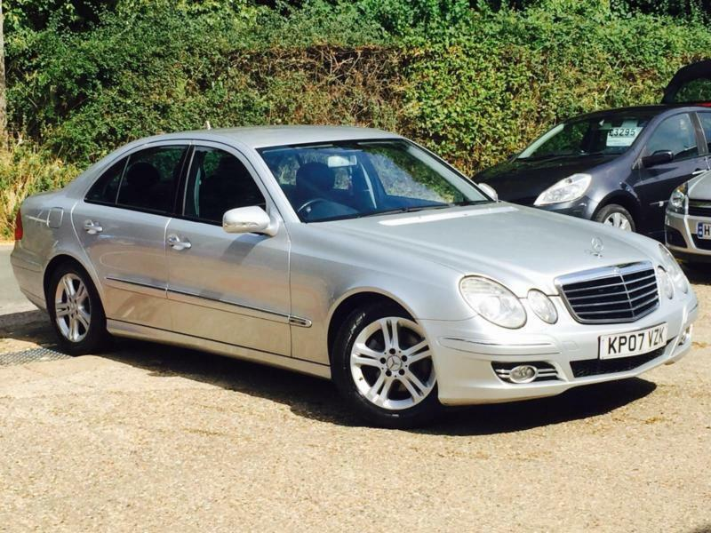 2007 mercedes benz e220 cdi avantgarde 2 1cdi auto 4 door silver fsh superb in high wycombe. Black Bedroom Furniture Sets. Home Design Ideas