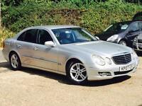 2007 Mercedes-Benz E220 CDI Avantgarde 2.1CDI Auto 4 Door Silver FSH SUPERB