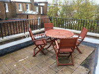 QUALITY - 2double bedrooms & large reception - master en suite - priv. terrace - nice furniture