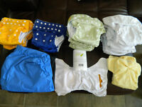 Cloth diapers Couches lavables