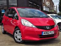 2012 HONDA JAZZ 1.2 I-VTEC S A/C (VSA) 5DR HATCHBACK MANUAL PETROL HATCHBACK PET