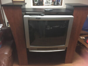 Free TV and TV stand!