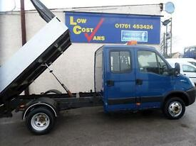Iveco Daily 35 C11 Alloy Crew Cab Tipper