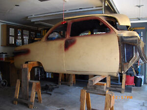 1951 FORD  BUSINESS  COUPE   (  PROJECT CAR  )