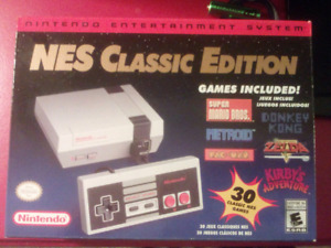 NES CLASSIC EDITION . FACTORY SEALED BOX . BRAND NEW .UNOPENED