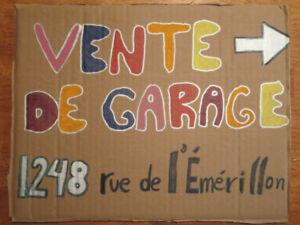 Vente Garage