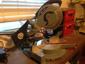 "King 10"" sliding compound mitre saw"