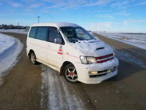 Rare JDM Toyota LiteAce 4WD turbo van, only 140k, drives great