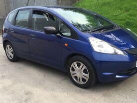 Honda Jazz blue 2009 new shape facelift model