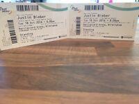 Just Bieber Tickets!! Bargain!!