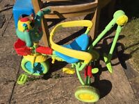Childs tricycle - trike - leap frog