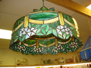 Tiffany Style Shade -- FROM PAST TIMES Antiques  - 1178 Albert