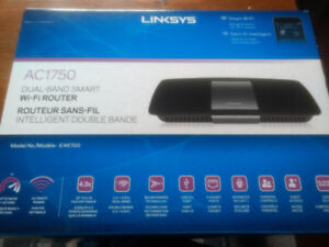 Linksys AC 1750 dual band wifi router.