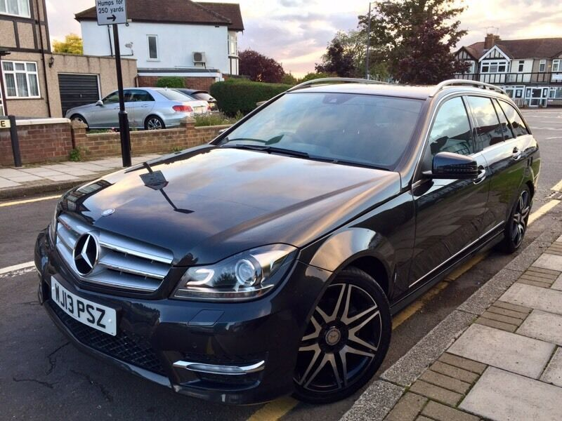 2013 MERCEDES BENZ C CLASS C250 AMG SPORT PLUS 7G AUTO ESTATE,35k FMBSH,HUGE SPEC,PRISTINE CONDITION