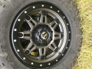 "4 brand new 18""fuel hostage 3 rims  fit Dodge and Gmc/Chevy"