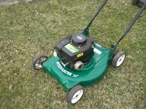 Recycle your old lawn mowers don't scrap them - Harrow